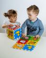 Pěnové puzzle Moje první zvířátka 15x15x1,2cm 6ks MPZ Teddies