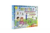 Školička společenská hra na baterie v krabici 22x16x3cm Voltik toys