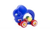 Slon s míčky tahací plast 20x18x9,5cm v sáčku od 12 měsíců Směr