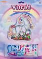 Vitráž kreativní obrázek 13x13cm asst 3 druhy na kartě SMT Creatoys
