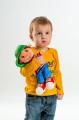 Panenka kluk Honzík hadrový plyš 30 cm česky mluvící na kartě Teddies