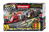 Autodráha Carrera GO!!! 62483 Race to Win 4,3m + 2 formule v krabici 58x40x8cm