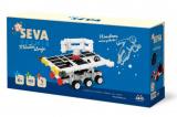 Stavebnice Seva  Vesmír Měsíční stroje plast 308ks v krabici 31x16x7cm
