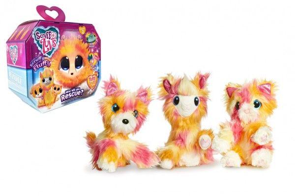 Zvířátko FUR BALLS Touláček Tutti Frutti pejsek/kočka/lama plyš plast s doplňky v krabici 24x20x10cm TM Toys