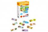 Hra školou® Co jedí zvířátka kreativní hra v krabici 16x25x5cm