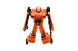 Robot/auto transformer plast 18cm asst 4 barvy v krabici 19x22x6cm Teddies