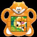 Puzzle s liškou zvuková hračka