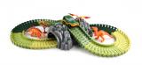 Variabilní dráha s dinosaury a tunelem 104 dílů pro kluky Alltoys