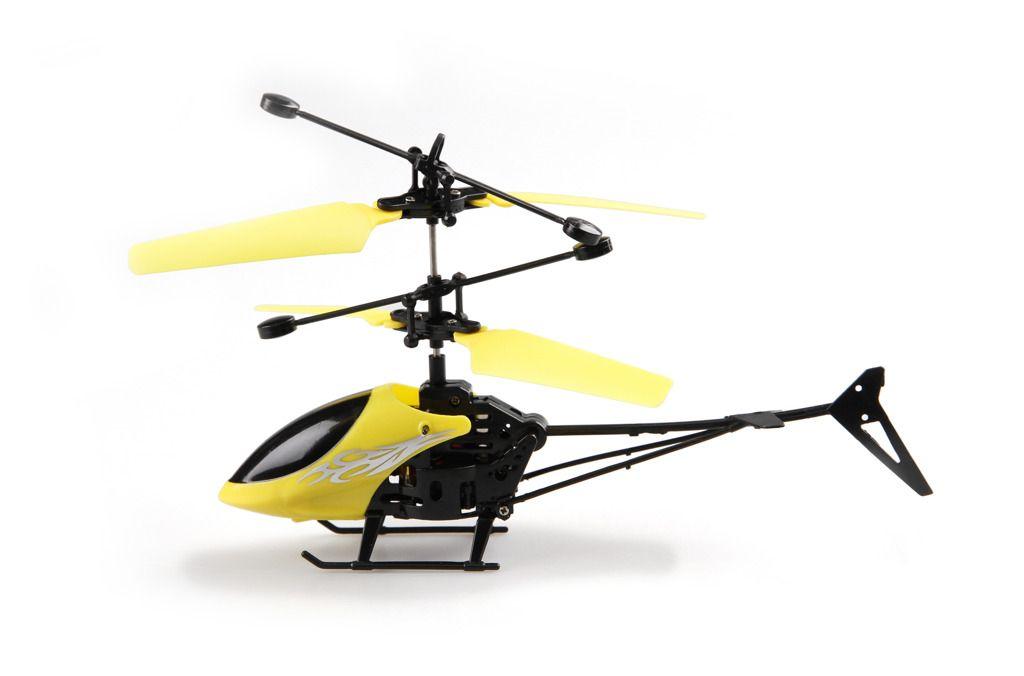 Vrtulník s LED světlem Mustar