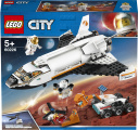 Lego City 60226 Space Port Raketoplán zkoumající Mars