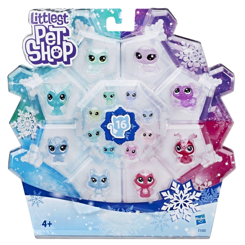 Littlest Pet Shop Zvířátka z ledového království 16 ks Hasbro