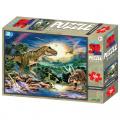 Puzzle 3D 100 dílků Tyrannosaurus