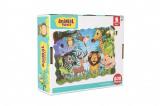 Puzzle safari ZOO 640x90cm 208ks v krabici 28x24x9cm