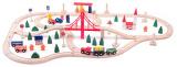 Vláčkodráha s mostem a nádražím 90dílů