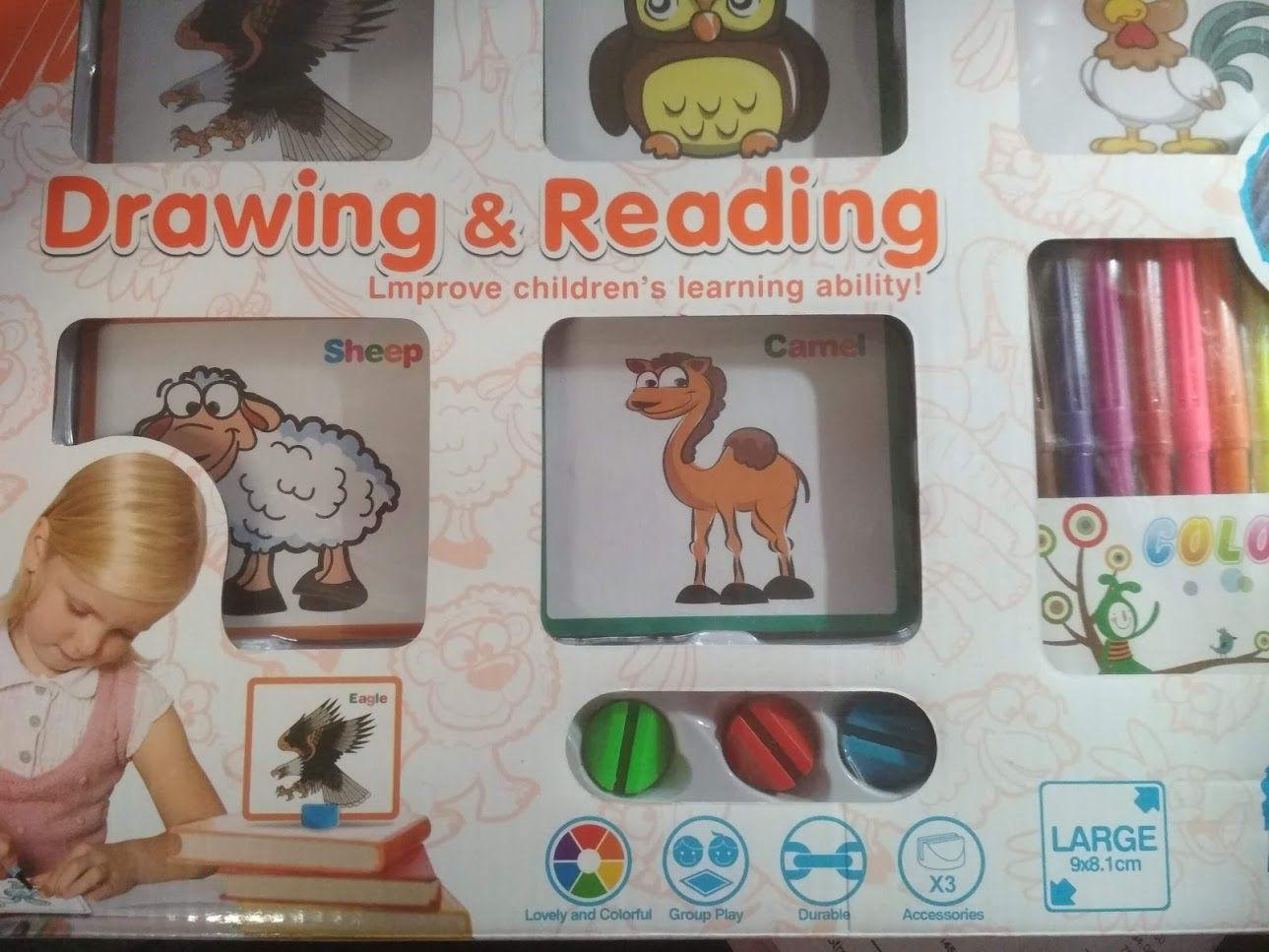 Kreativní sada malovací s výukou anglického jazyka Lamps