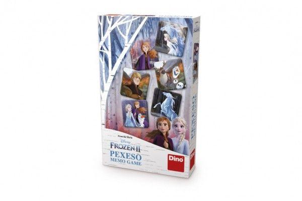 Pexeso Ledové království II/Frozen II společenská hra v krabici 11,5x18x3cm Dino