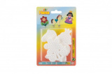 Podložka na zažehlovací korálky - kytička,koník, princezna plast 3ks na kartě 12x18x3cm