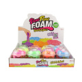 Sliz - Pomalu tekoucí hmota 100g 6 barev v kelímku 12ks v boxu Teddies