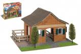 Stavebnice Teifoc Velká Stáj 420ks v krabici 43x33x11cm