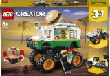 Lego Creators 31104 Hamburgerový monster truck