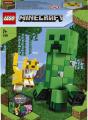 Lego Minecraft 21156 Velká figurka: Creeper™ a Ocelot