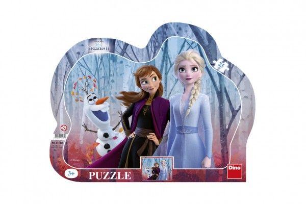 Puzzle deskové Ledové království II/Frozen II 35,5x28cm 25 dílků Dino