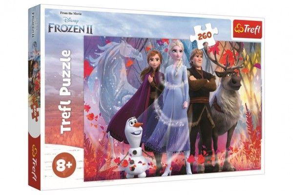 Puzzle Ledové království II/Frozen II 260 dílků 60x40cm v krabici 40x27x4cm Trefl