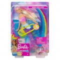 Barbie svítící mořská panna s pohyblivým ocasem běloška Mattel