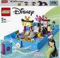 Lego Disney Princess 43174 Mulan a její pohádková kniha dobrodružs