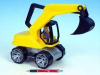 Auto Truxx bagr plast 44cm od 24 měsíců