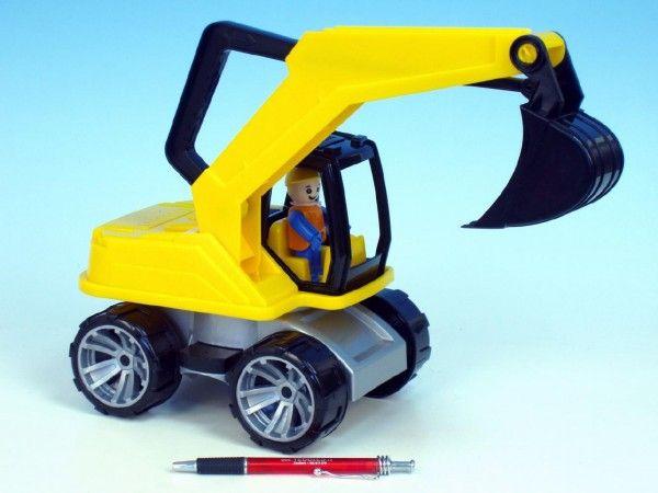 Auto Truxx bagr plast 44cm od 24 měsíců hračka na písek Lena