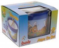 Bubínek Včelka Mája kov/plast průměr 17cm v krabičce Lena