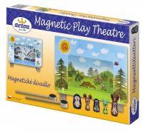 Divadlo Krtek magnetické v krabici 33x23x3,5cm Detoa