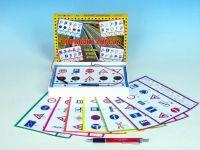 Dopravní značky společenská hra na baterie v krabici 22x16x3cm Voltik toys