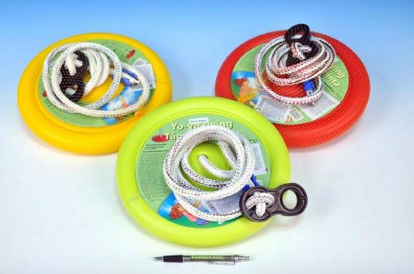 Houpačka Jojo kruh na zavěšení průměr 27cm nosnost 50kg asst 3 barvy Teddies