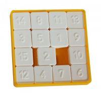 Hra 15 hlavolam přesouvačka plast 7,5x7,5cm Směr