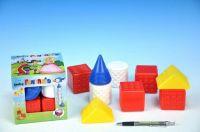 Kostky kubus Fantazie plast 9ks v krabičce od 6 měsíců Chemoplast