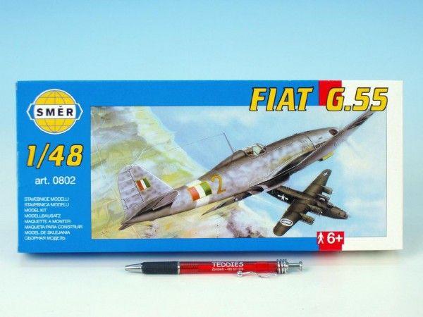 Model Fiat G.55 18,9x23,4cm v krabici 31x13,5x3,5cm Směr