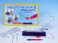 (NE)jistá ruka společenská hra na baterie v krabici 33x23x3,5cm Voltik toys