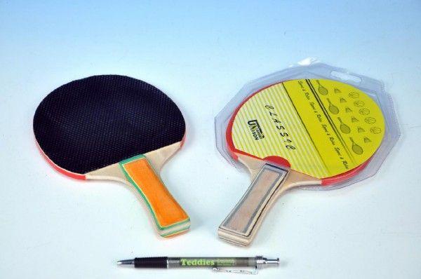 Pálka na stolní tenis řapíková 25cm UNISON