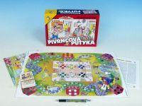 Pivrncova putyka společenská hra v krabici 28x19,5x6cm
