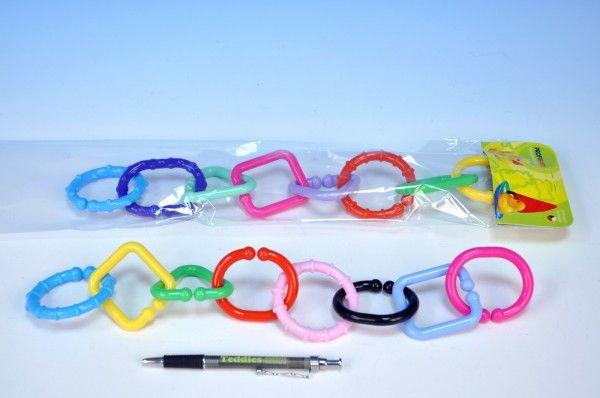 Řetěz 8 tvarů plast v sáčku od 0 měsíců Profibaby