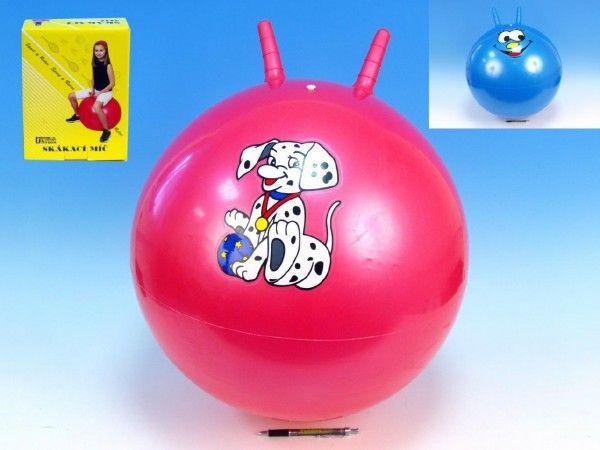 Skákací míč 50cm asst 4 barvy v krabici UNISON