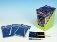 Škrábací obrázek hologram 15x10cm 24ks v boxu