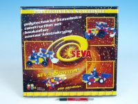 Stavebnice Seva Stavitel plast 298ks v krabici 35x33x5cm