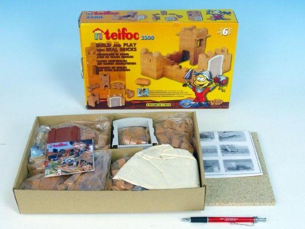 Stavebnice Teifoc Rosa 200ks v krabici 35x29x8cm Směr