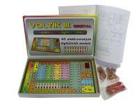 Voltík III. společenská hra na baterie v krabici 40x24,5x4,5cm Voltik toys