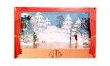 Loutkové Divadlo Krtek papírové 6ks postaviček v krabici 34x23x4cm Bonaparte
