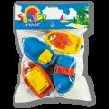 Lodičky v sáčku plast hračka do vany Androni