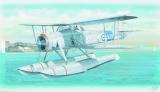 Model Fairey Swordfish Mk.2 26,4x29cm v krabici 34x19x5,5cm Směr